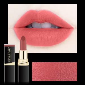 Long Lasting Waterproof Moisturizing Solid Color Matte Lipstick 26 - Chiffon Red