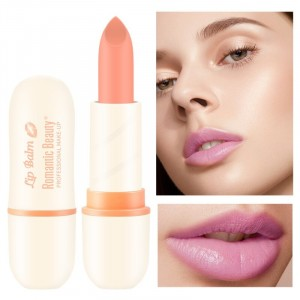 Waterproof Romantic Beauty Lasting Moisturizing Lip Balm 02 - Light Orange