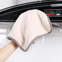 Super Absorbent Microfiber Caleaning Cloth Kitchen Dishcloth Towel Scouring Pad Rag Cleaning 1 Pcs