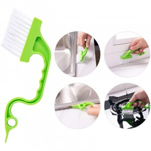 Handheld Groove Gap Cleaning Tools Door Window Track Kitchen Cleaning Brush One Pcs