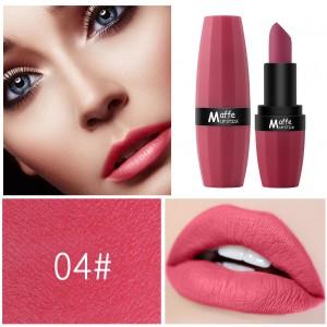 Non Fading Long Lasting Women Fashion Lipstick 04 - Rose Red