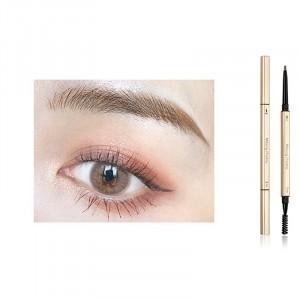 2 In 1 Long Lasting Solid Color Women Eyebrow Pencil 03 - Brown