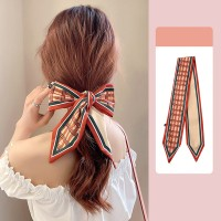 Vintage Bow Rope Hair Tied Scarf Ribbon - Multicolor
