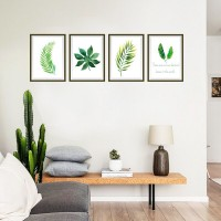 Green Leaves Photo Frame Decorative Painting Bedroom living Room Background Wall Stickers