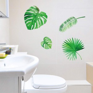 Nordic Plant Wall Sticker Room Home Decor Removable Wall Sticker Decals