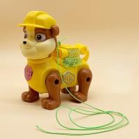 Cute Auto Running Plastic High Quality Dog - Yellow