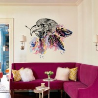 Self Adhesive 3D Owl Wall Sticker For Bedroom Living Room