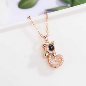 Civet Cat Memory Love Necklace For Women