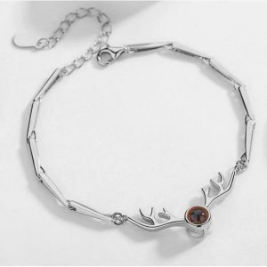 Deer Style Present Memory Projection Bracelet For Women