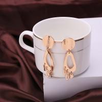 Glossy Ball Long Earrings For Women