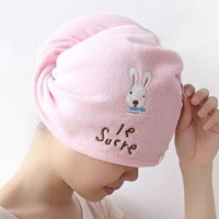 Fashion Towel Cap Dry Hair Cap Super Absorbent Lovely
