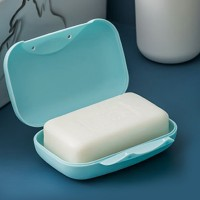 Plastic Soap Dish Soap Box Plate Holder Tray