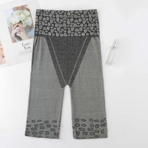 Slim Solid Thread Art Slim Shorts Underwear - Light Gray