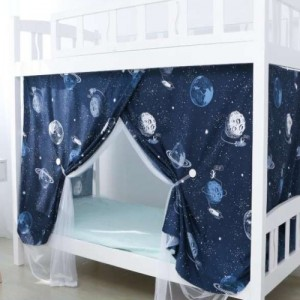 Bed Curtain For Lower Deck Single Bed Galaxy Design