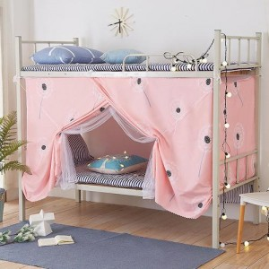 Bed Curtain For Lower Deck Single Bed Dandelion Design