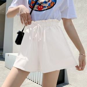 Fashion Loose Comfortable Casual Shorts Pants - Beige