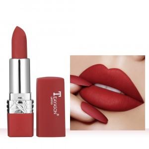 Moisturizing Long Lasting Velvet Matte Lipstick 06 - Wine Red
