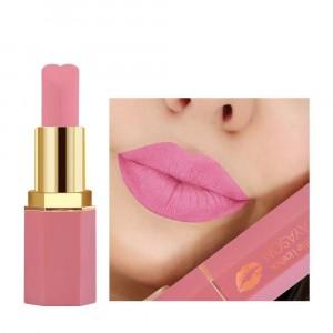 Waterproof Long Lasting Soft Heart Shape Matte Lipstick 10 - Pink
