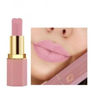 Waterproof Long Lasting Soft Heart Shape Matte Lipstick 05 - Light Pink