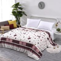 Fleece Blanket Moon and Stars Design