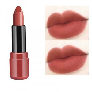 Long Lasting Moisturizing Waterproof Matte Lipstick 08 - Light Red