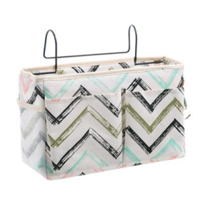 Easy Side Table Hanging Canvas Covered Rack - Multicolor