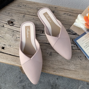 Pointed Open Style Women Fashion Slippers - Pink