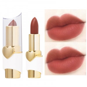Luxury Women Long Lasting Solid Color Women's Lipstick 11 - Brown Red