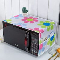 Waterproof With Two Storage Pocket Refrigerator Microwave Own Cover - Pink Green