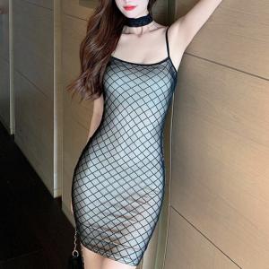 Spaghetti Strapped Body Fitted Mini Dress