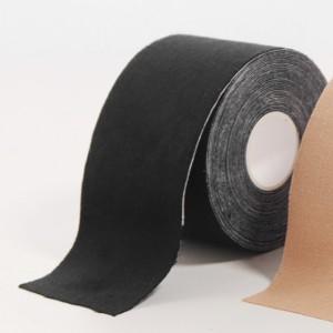 Canvas Adhesive Silicon Bra Sticking Tap - Black