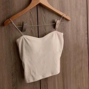 Spaghetti Strap Cami Style Beach Wear Top - White