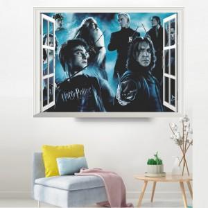 Harry Potter 3D DIV Home Bedroom Decoration Adhesive Sticker