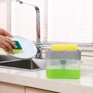 2 In 1 Multi Purpose Hand Press Liquid Soap Pump for Kitchen Bathroom