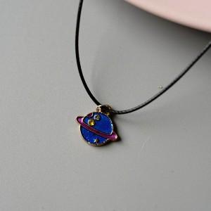 Pendant Style Women Fashion Fancy Necklace - Blue