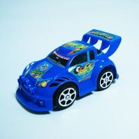Sports Car Cute Kids Playable Toy - Blue