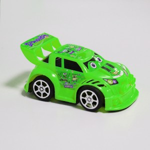Sports Car Cute Kids Playable Toy - Green
