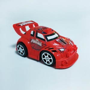 Sports Car Cute Kids Playable Toy - Red