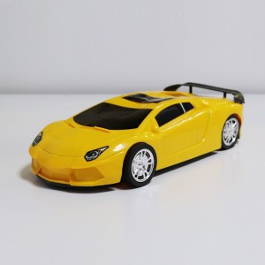 High Quality Plastic Kids Playable Car Toy - Yellow