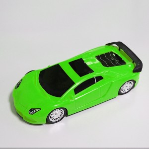 High Quality Plastic Kids Playable Car Toy - Green