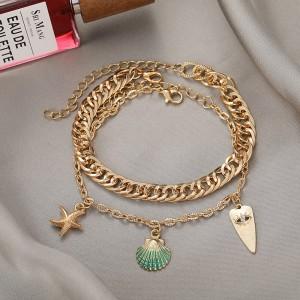 Bohemia Style Women Fashion Jewellery - Golden