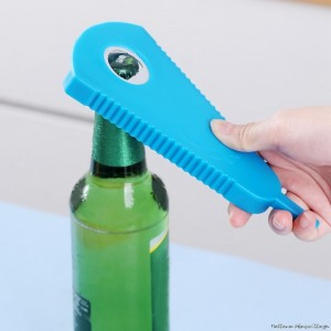 Multi Function Bottle Opening Kitchen Gadgets Tools - Blue