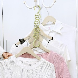 Multifunctional Clothes Drying Rack Storage Plastic Scarf Clothes Hanger