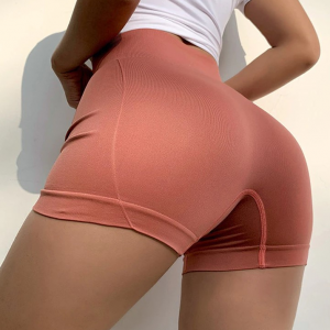 Thin Fabric Sports Wear Mini Shorts - Red