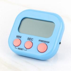 Digital Screen Plastic Fitness Timer Stop Watch - Blue