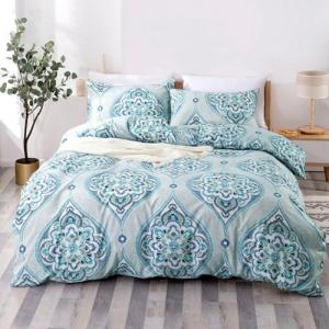 Without Filler 6 Pieces King Size Bohemia Design Bedding Set