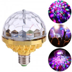 Colorful LED Rotating Mini Laser Stage Party Home Light - Multicolor