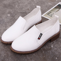Synthetic Leather Women Fashion Formal Wear Shoes - White