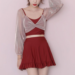 Casual Party Wear Mini Length Two Pieces Suit