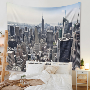 Buildings Design Wall Hanging Tapestry Home Decor
